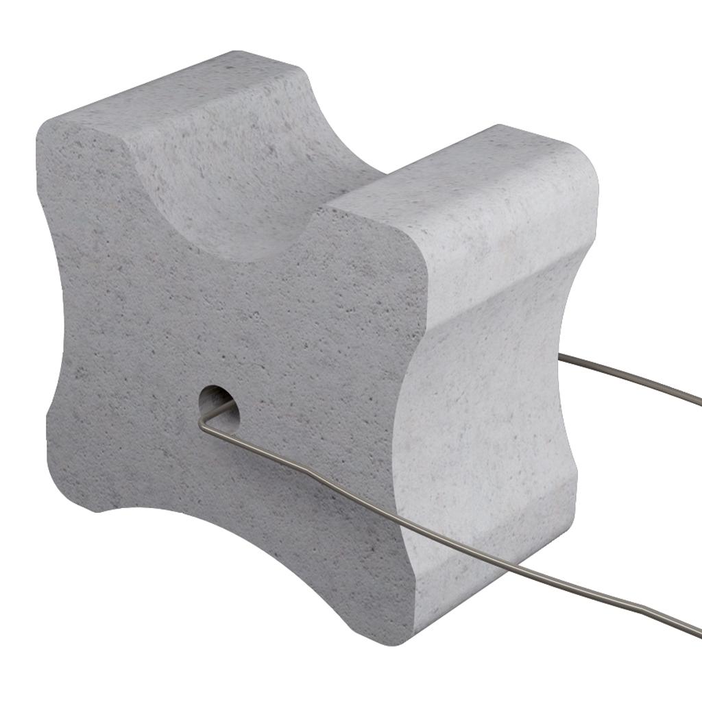 Beton Knochen mit Draht