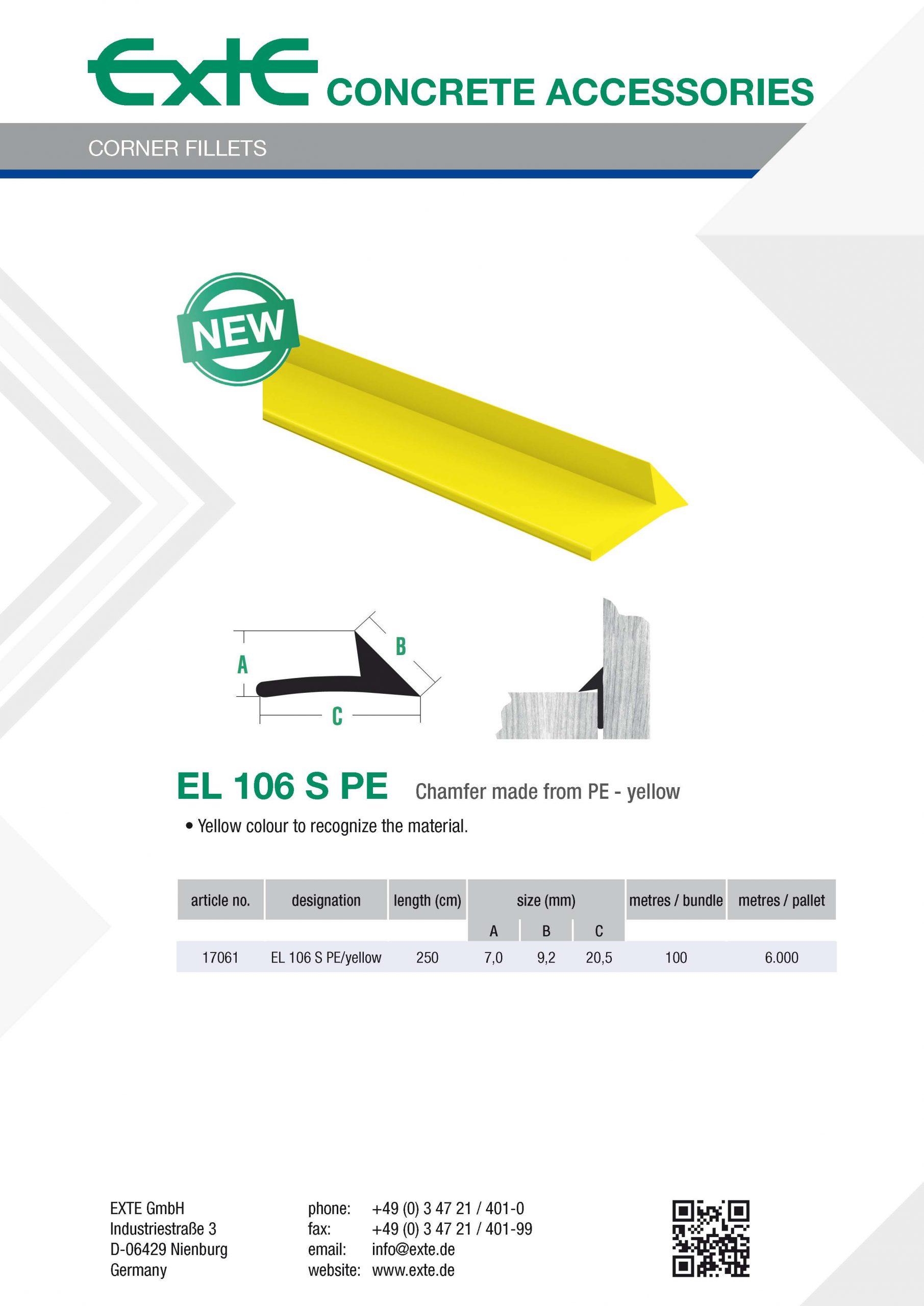 product sheet A4 - EL106SPE - en
