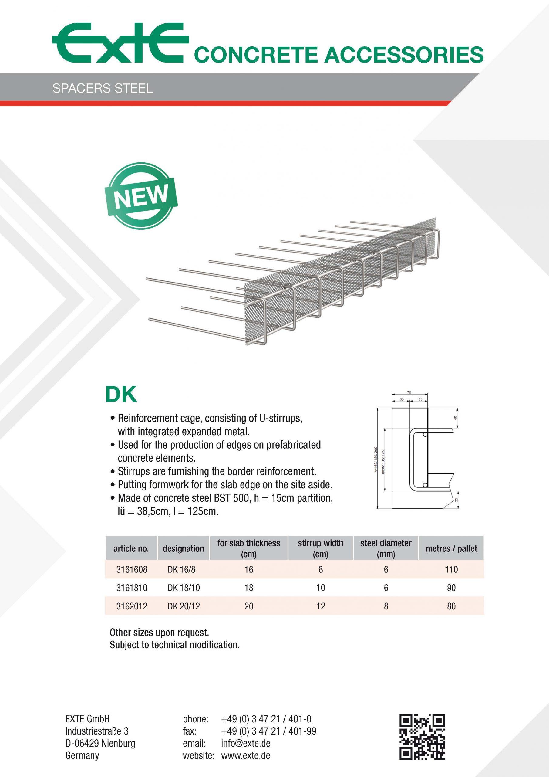 product sheet A4 - DK - en