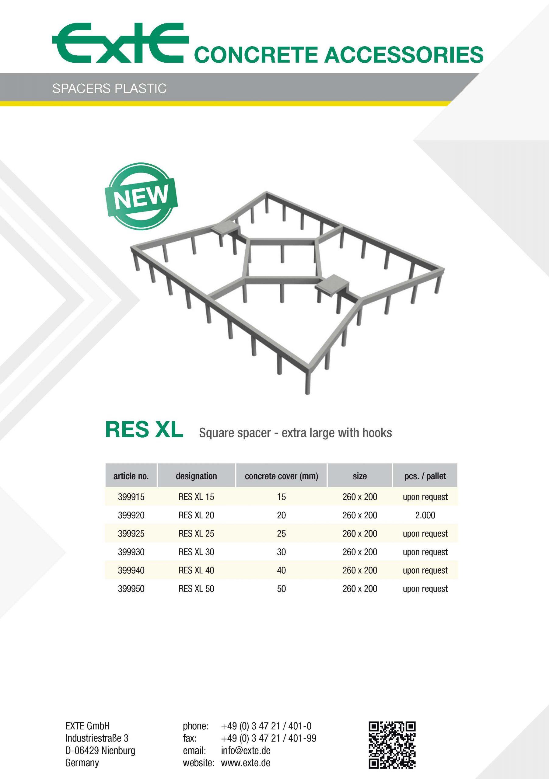 product sheet A4 - RES XL - en