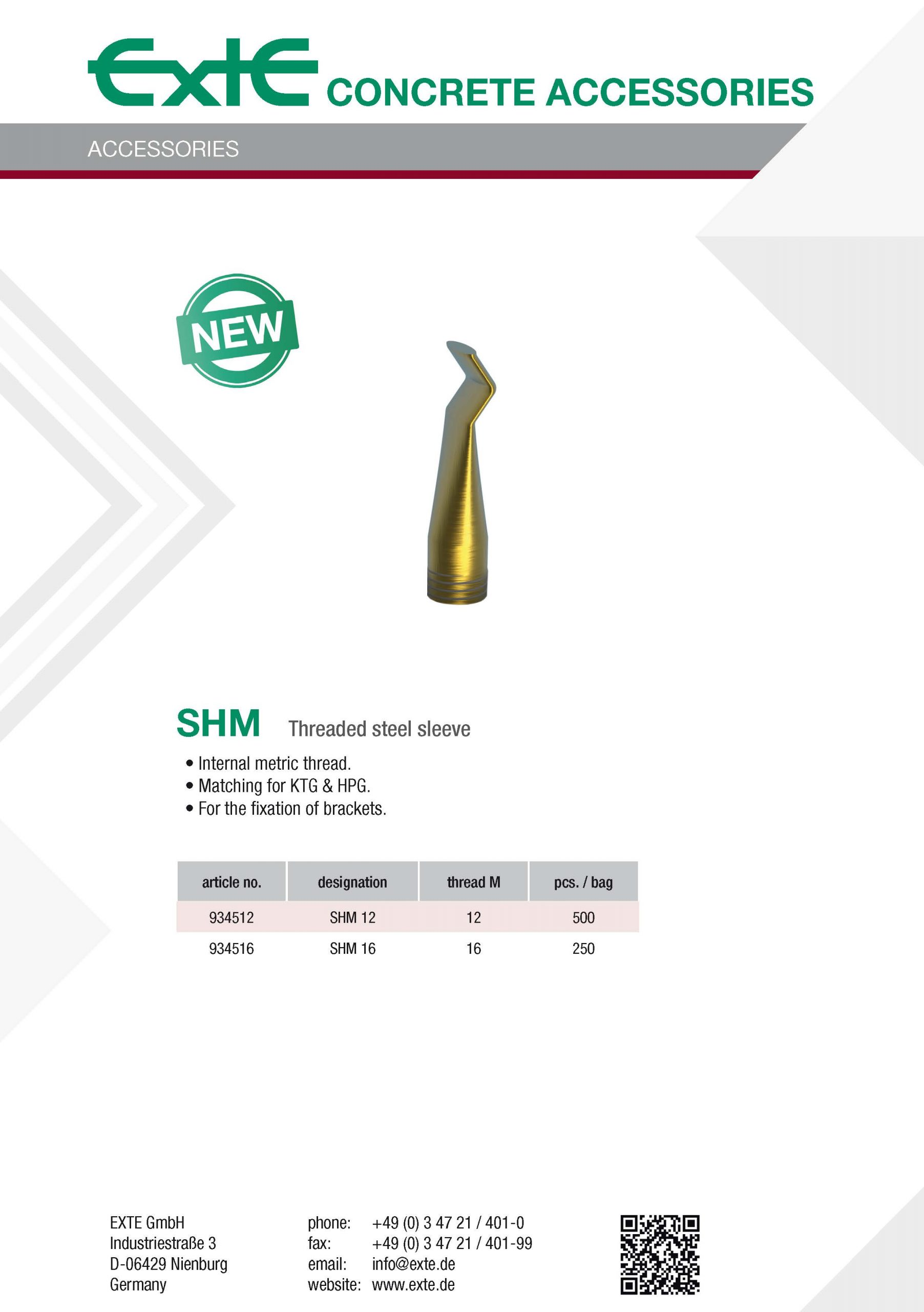 product sheet A4 - SHM - en