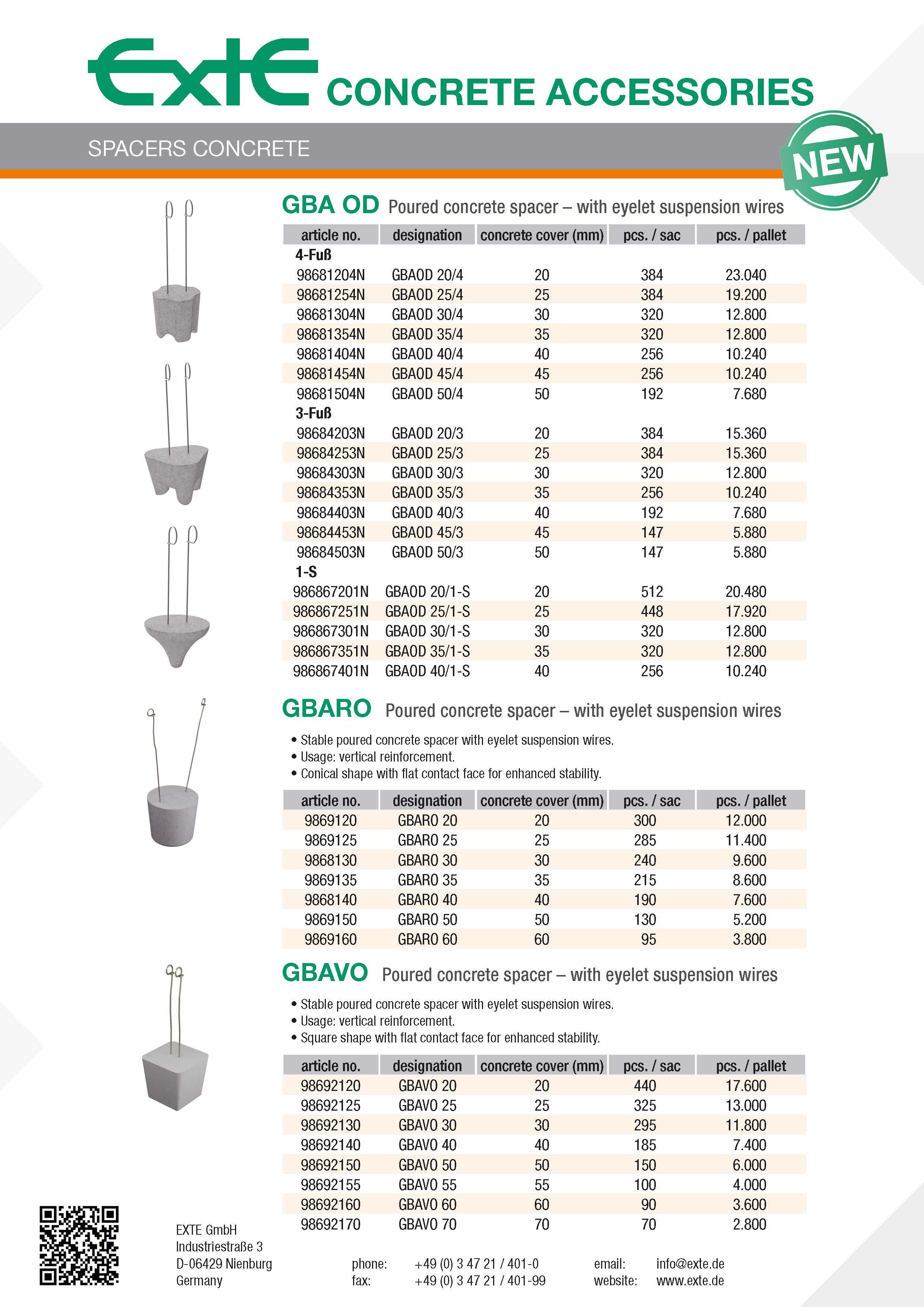 product sheet A4 - GBA OD - en